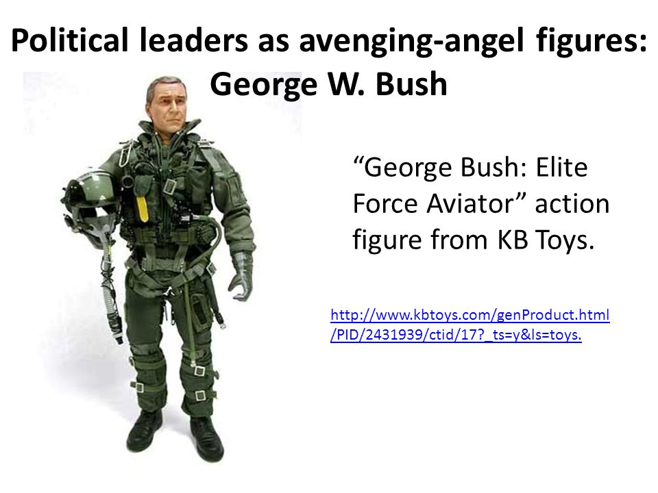 George Bush: Elite Force Aviator action figure from KB Toys.