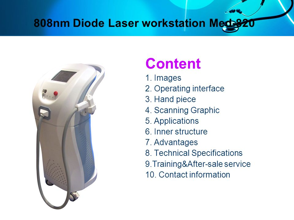Handpiece Professional hand piece Medical laser standard