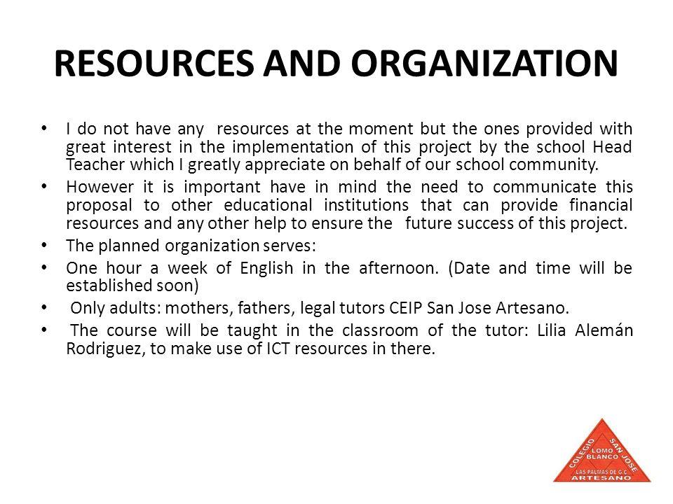 INVITATION USER LEVEL ENGLISH COURSE FOR FAMILIES OF CEIP SAN JOSE ARTESANO.