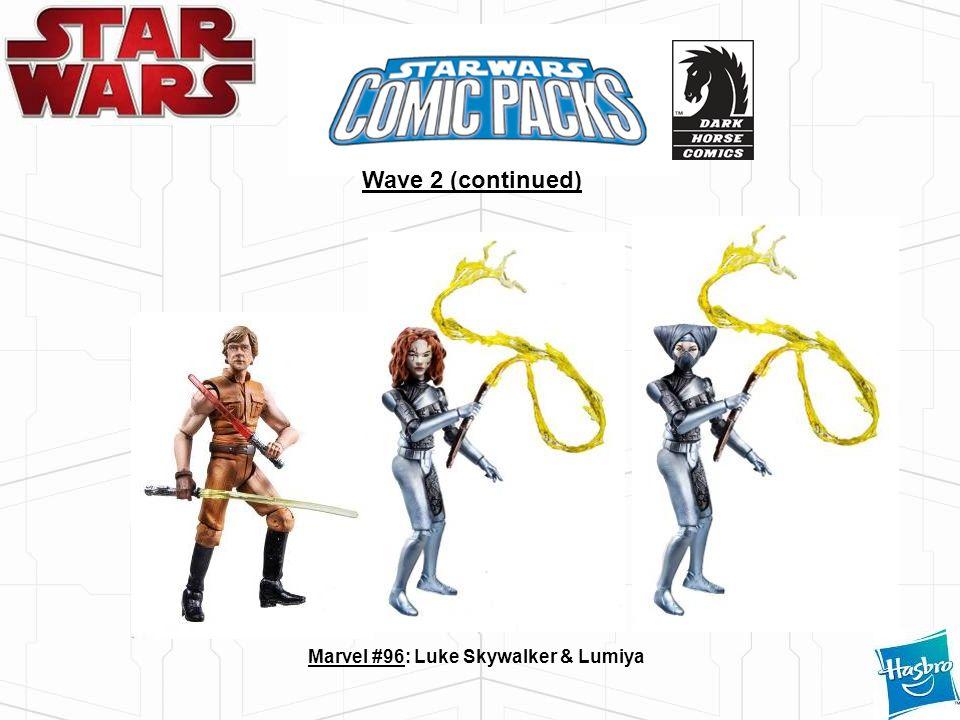 Marvel #96: Luke Skywalker & Lumiya Wave 2 (continued)
