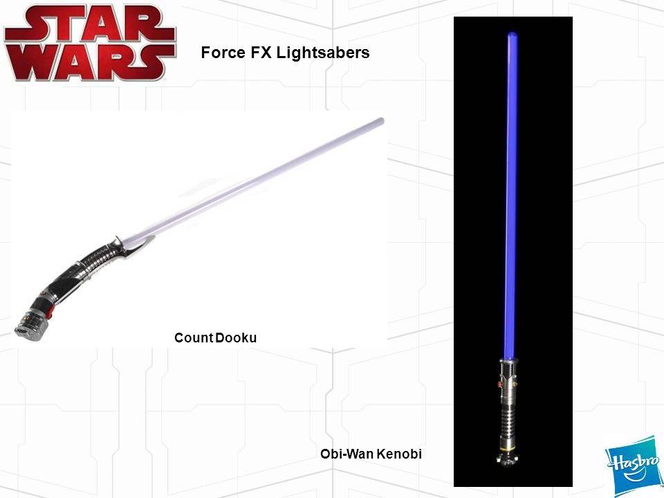 Force FX Lightsabers Count Dooku Obi-Wan Kenobi