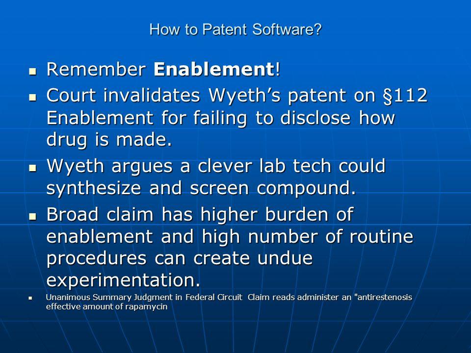 How to Patent Software? Houstonpatentlaw.comdmcewing@houstonpatentlaw.com