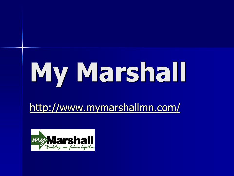 My Marshall http://www.mymarshallmn.com/
