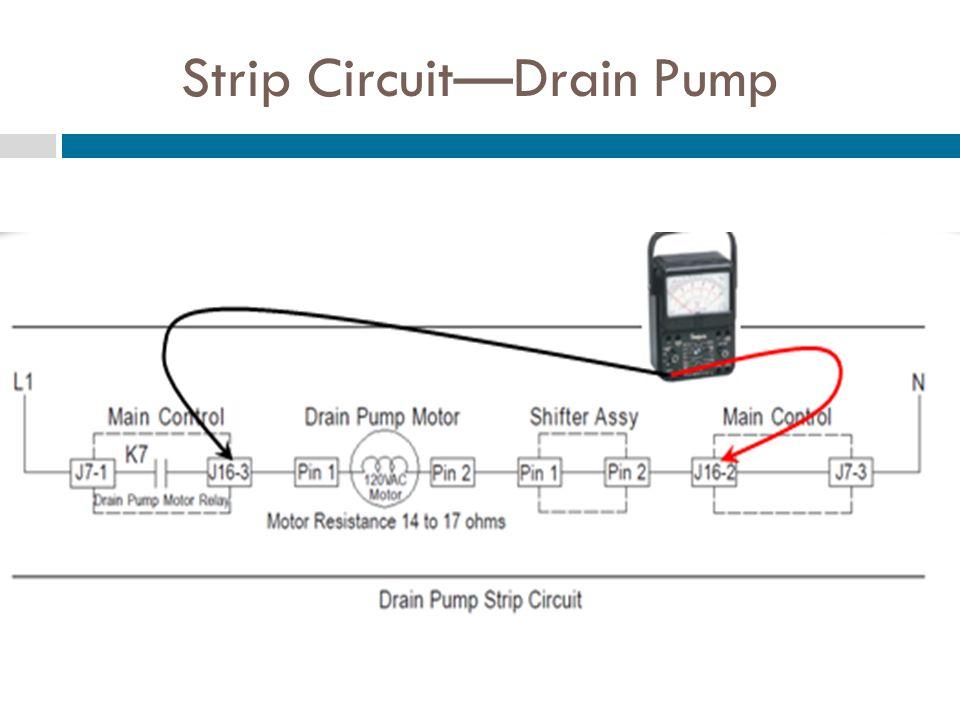 Strip CircuitDrain Pump