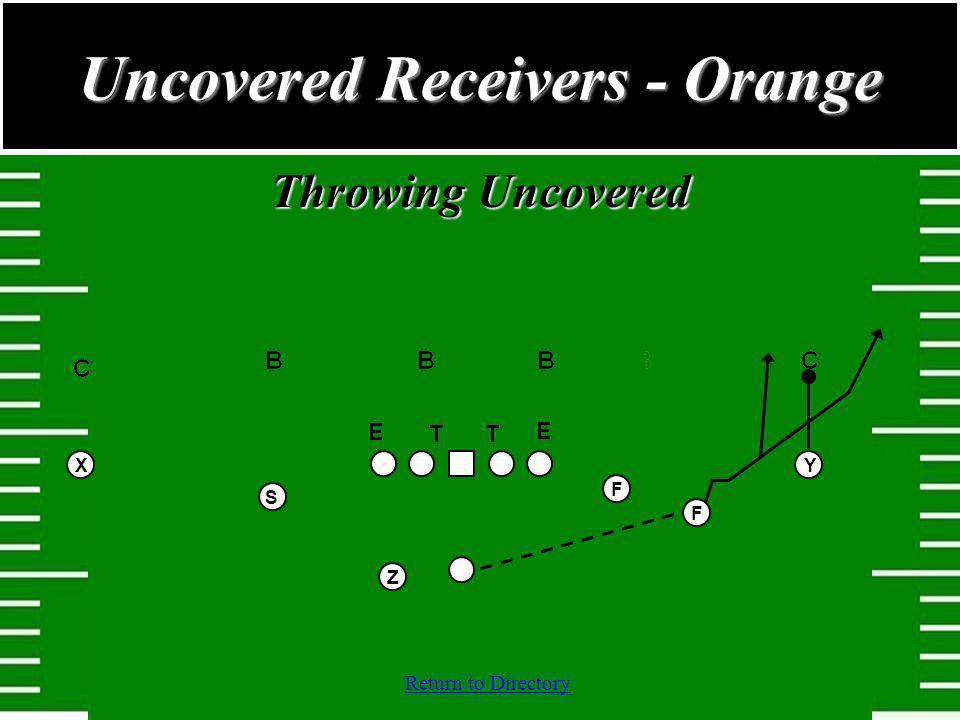 Return to Directory Throwing Uncovered Uncovered Receivers - Orange YZSXFF
