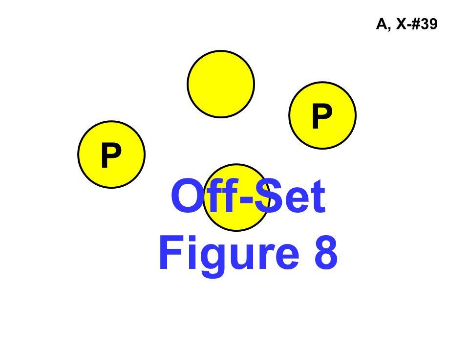 A, X-#39 Off-Set Figure 8 P P