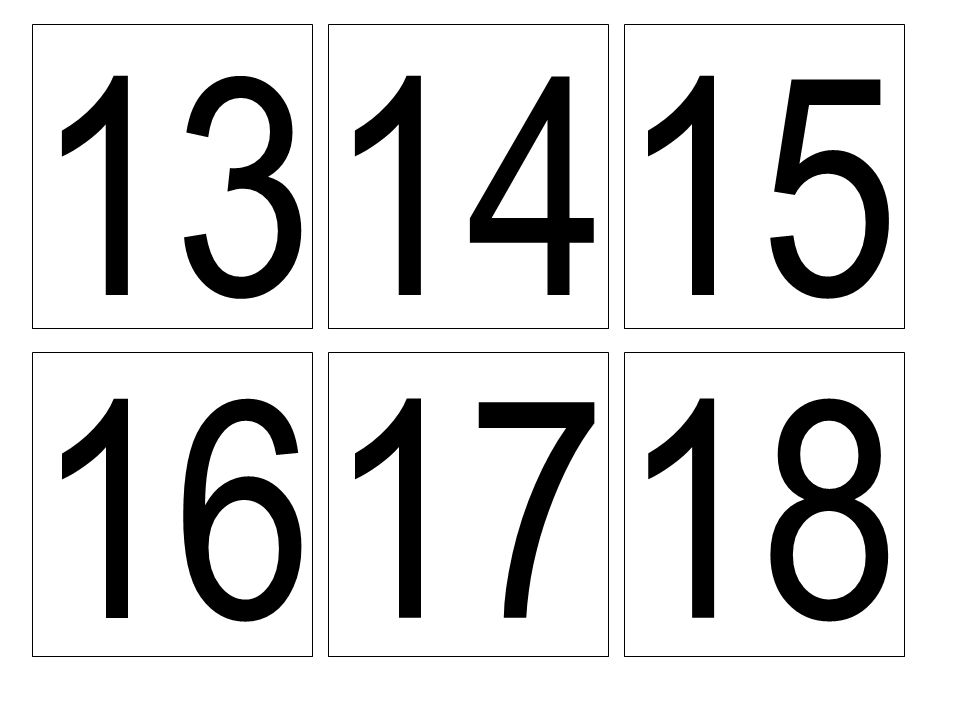 13 1415 16 1718