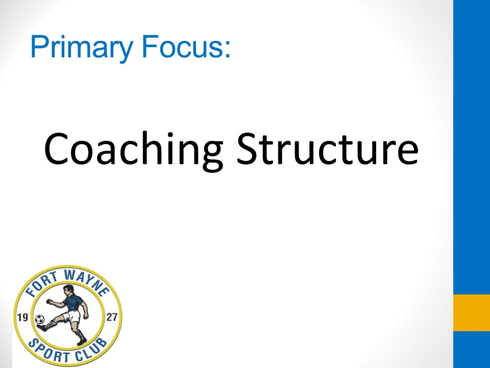 Age Group Assistant Coaches Assists Technical Director in designing and executing training plans Collaborates with Technical Director on short term and long term plan for age group teams Assists with writing evaluations and meetings with players to review evaluations