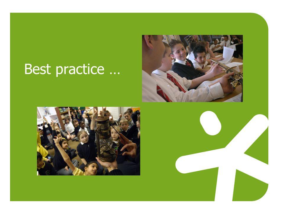 Best practice …