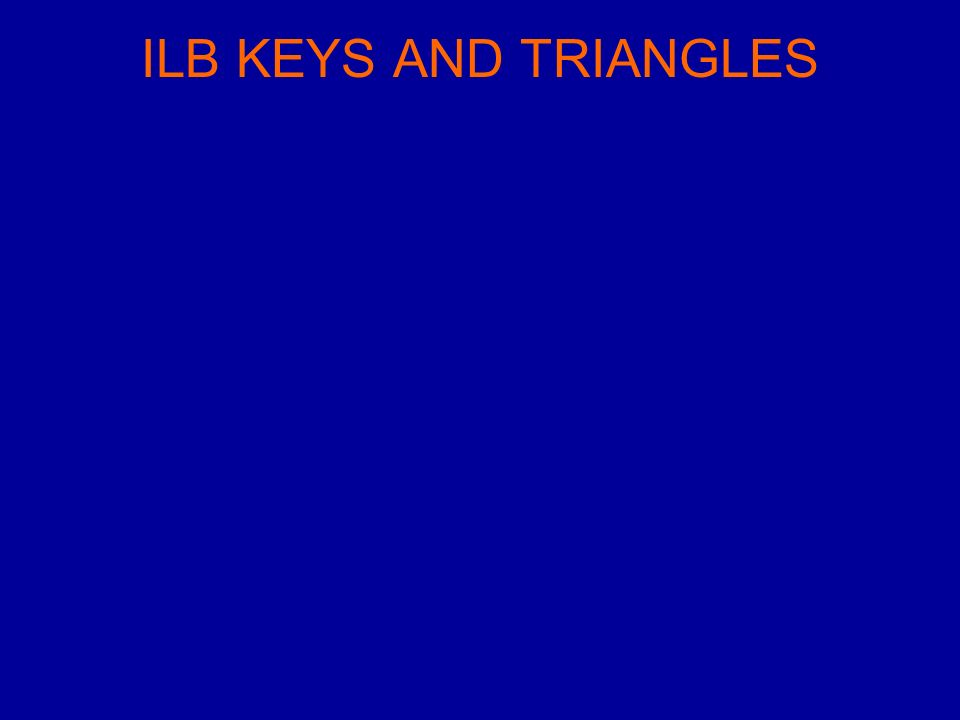 ILB KEYS AND TRIANGLES