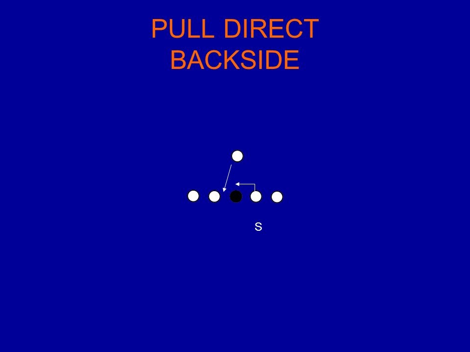 PULL DIRECT BACKSIDE S