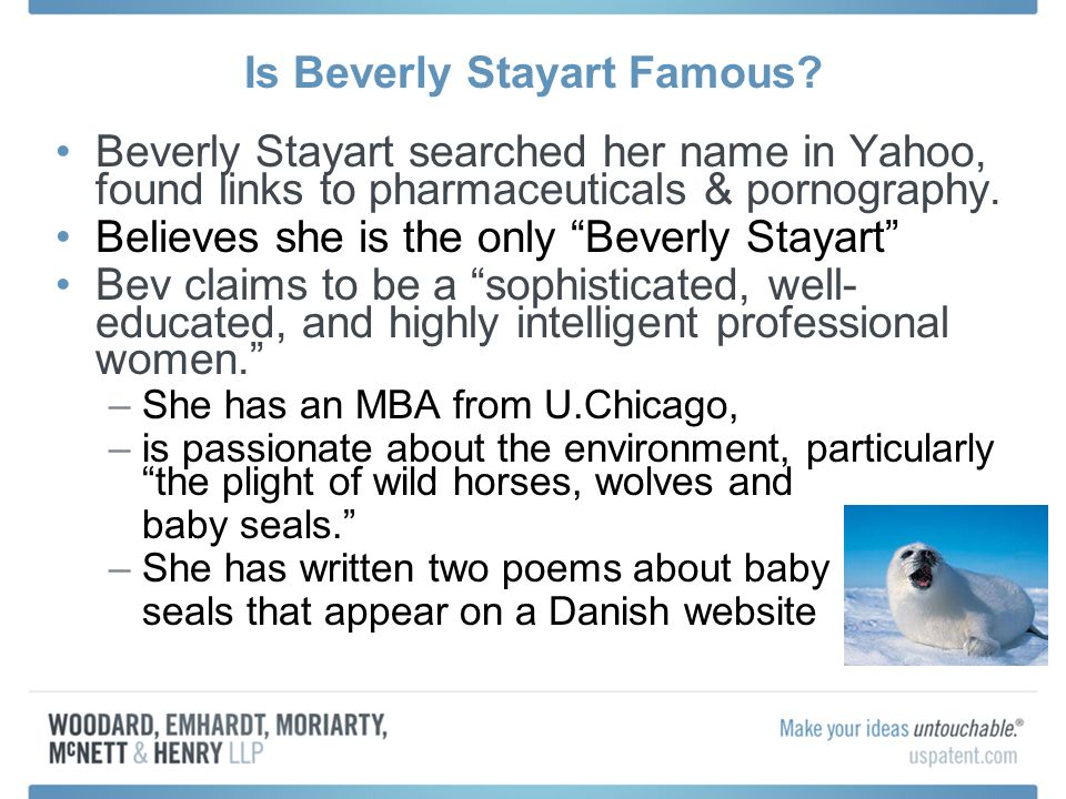 Is Beverly Stayart Famous.