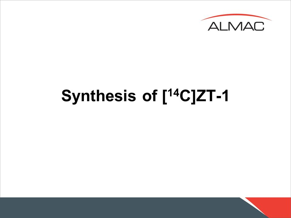 Synthesis of [ 14 C]ZT-1 14 C labelling