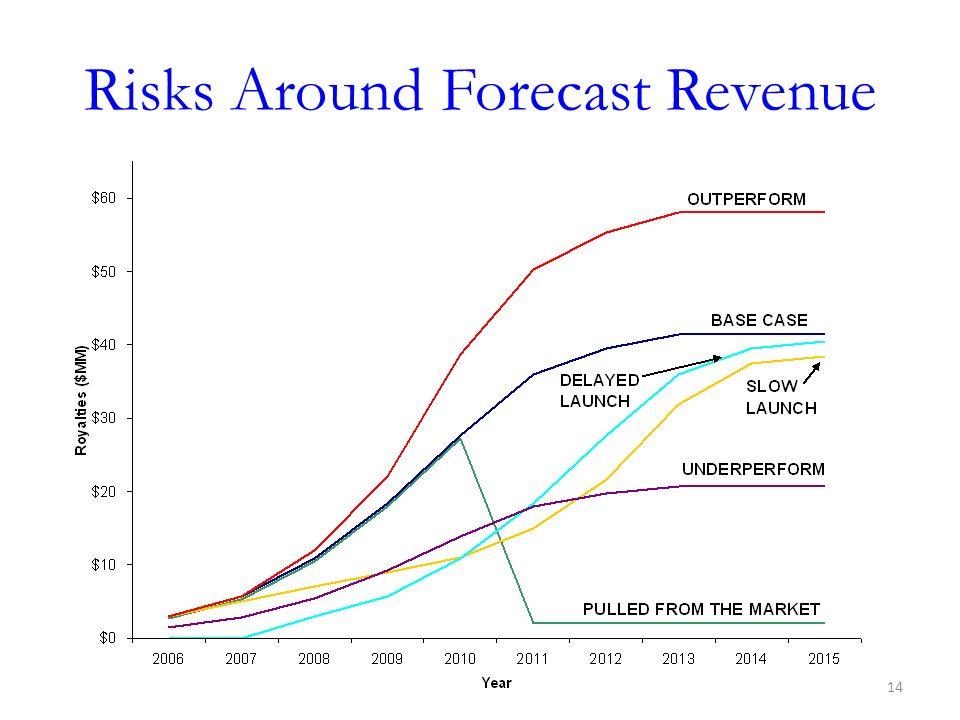 Risks Around Forecast Revenue 14