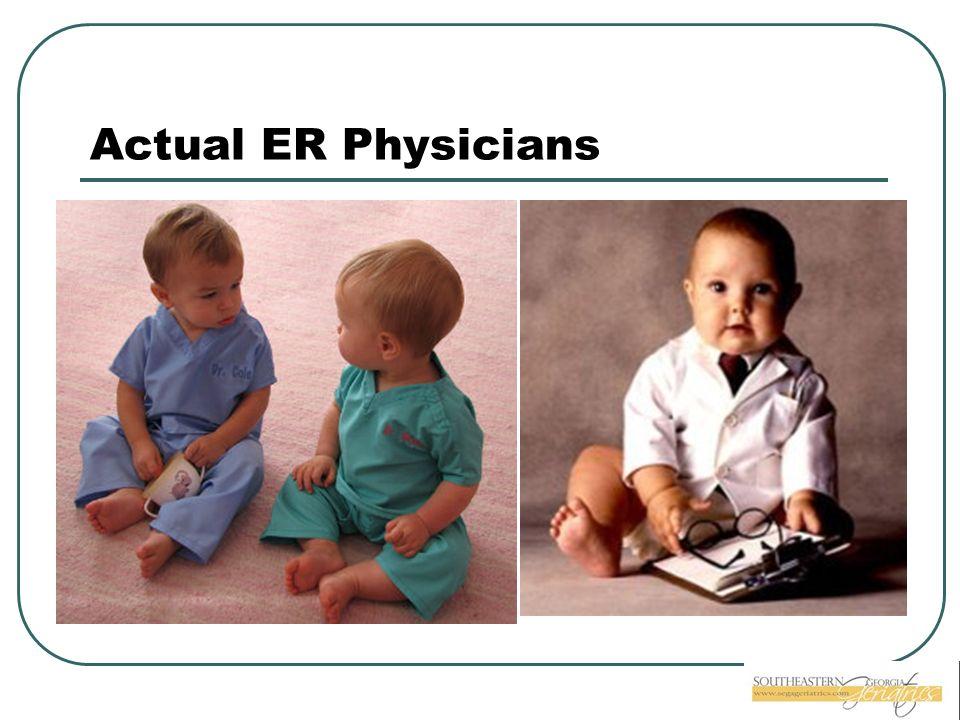 Actual ER Physicians
