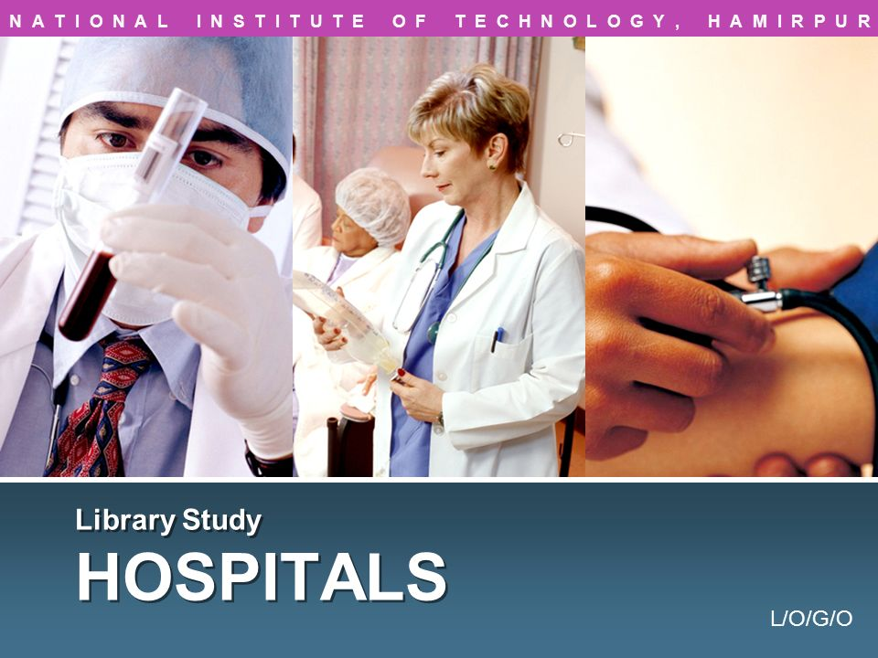 Hospital CATEGORY A : (25-50 BEDS) CATEGORY B : (51-100 BEDS) CATEGORY C : (101-300 BEDS) CATEGORY D : (301-500 BEDS) 4 1 2 3 A hospital is an institution for providing health care treatment to the patients with specialized staff and equipments.