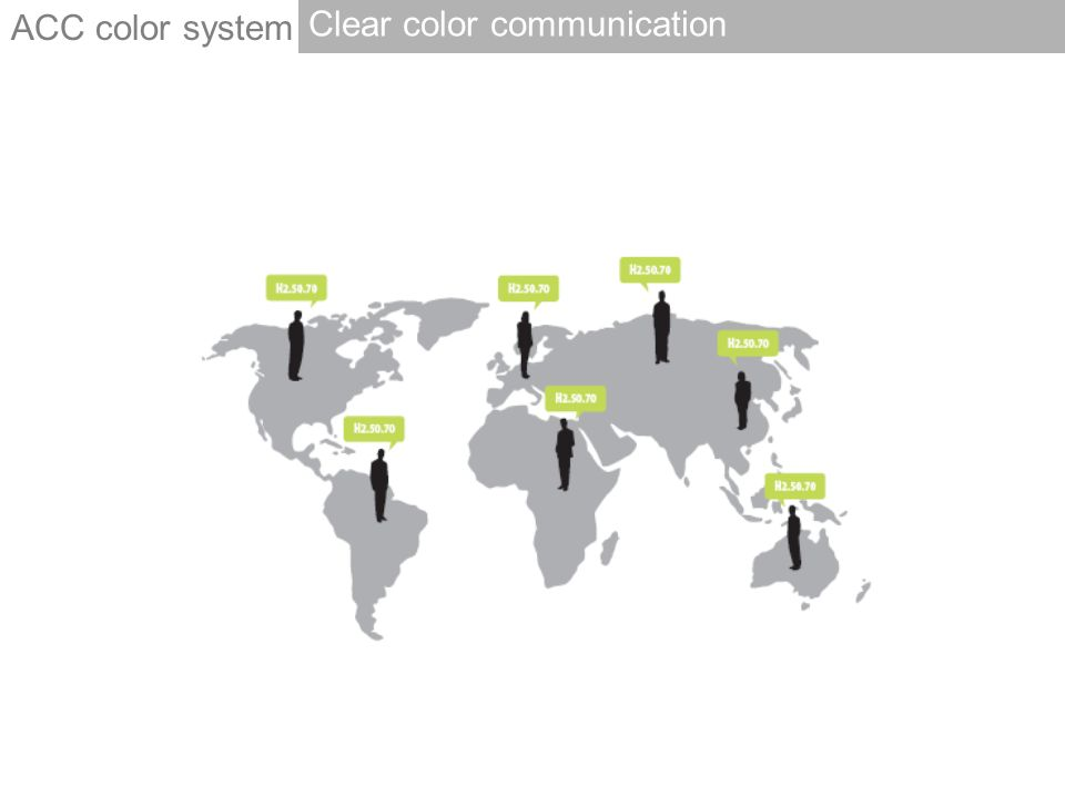 Clear color communication