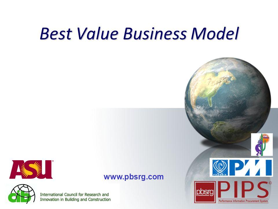 1 Best Value Business Model www.pbsrg.com