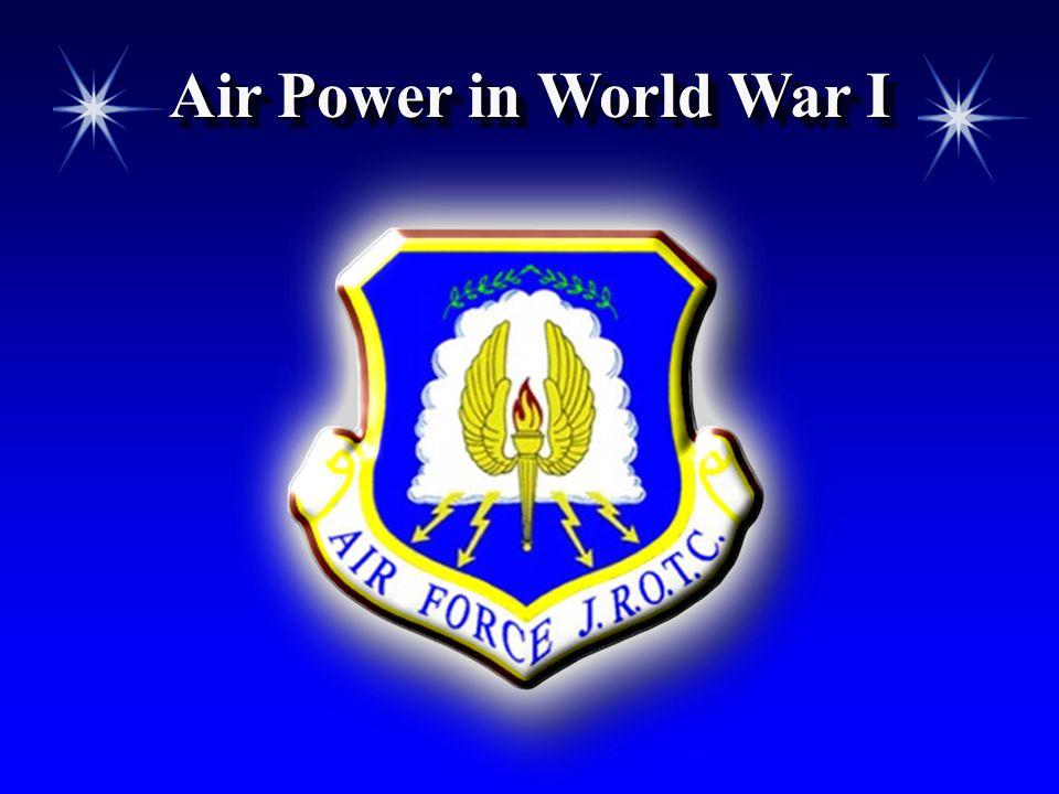 Air Power in World War I