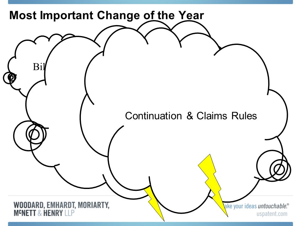 Bilski Most Important Change of the Year Appeals Rules Continuation & Claims Rules