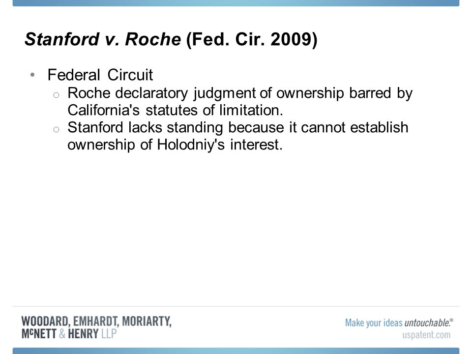 Stanford v. Roche (Fed. Cir.