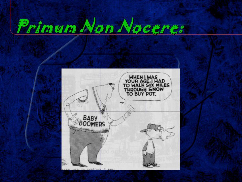 Primum Non Nocere: