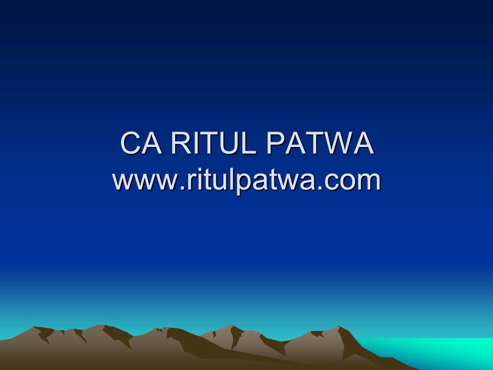 CA RITUL PATWA www.ritulpatwa.com