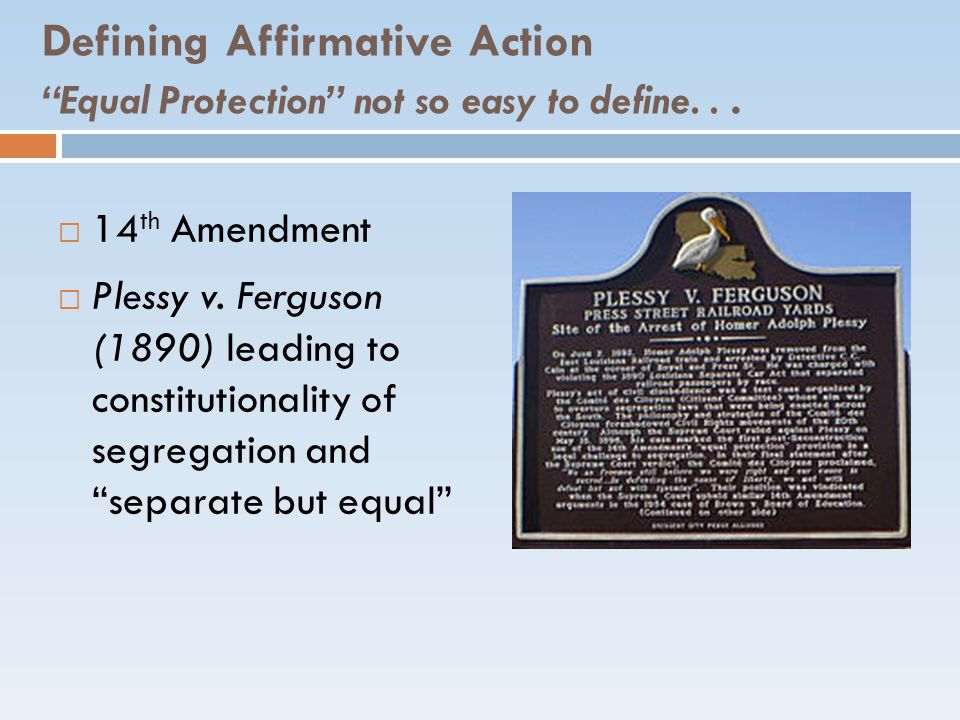 Affirmative Action Michigan Cases 2002 – 6 th Circuit Gratz v Bollinger (undergraduate) Grutter v.