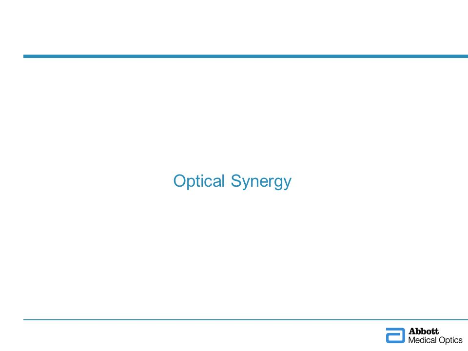 Optical Synergy
