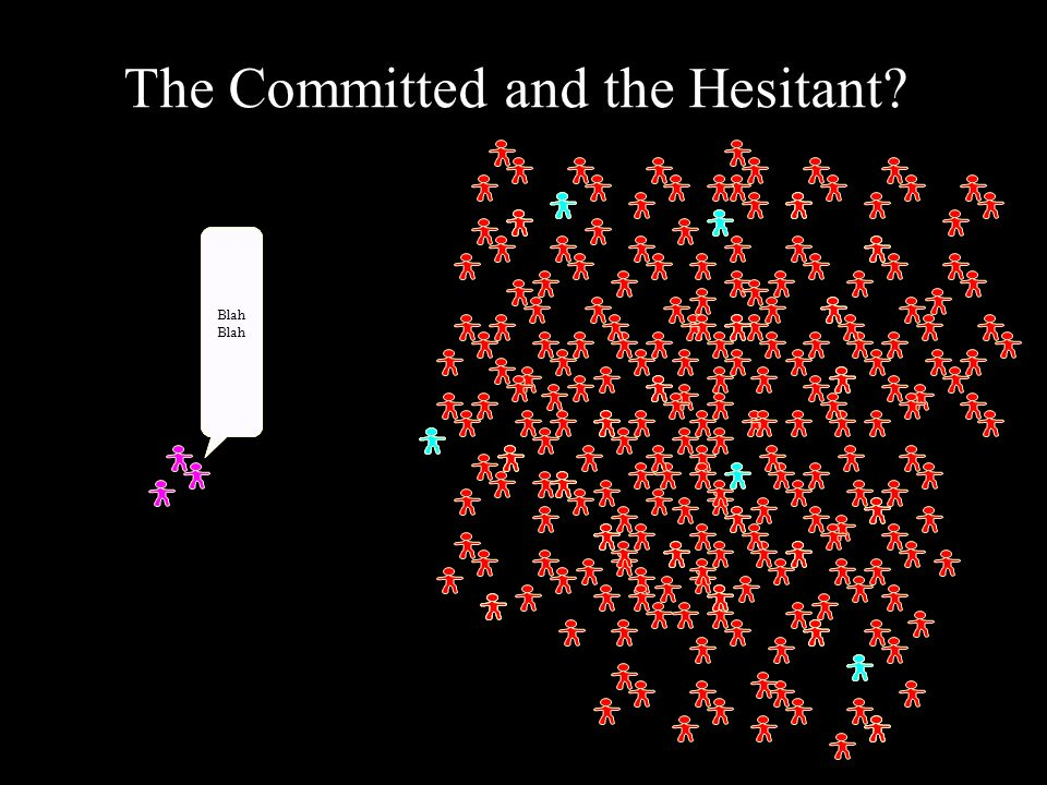 The Committed and the Hesitant Blah