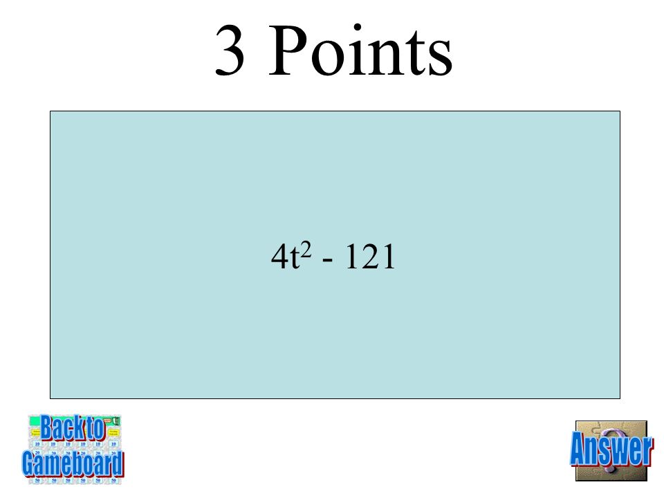 (x – 2) 2 2 Points 5-2A