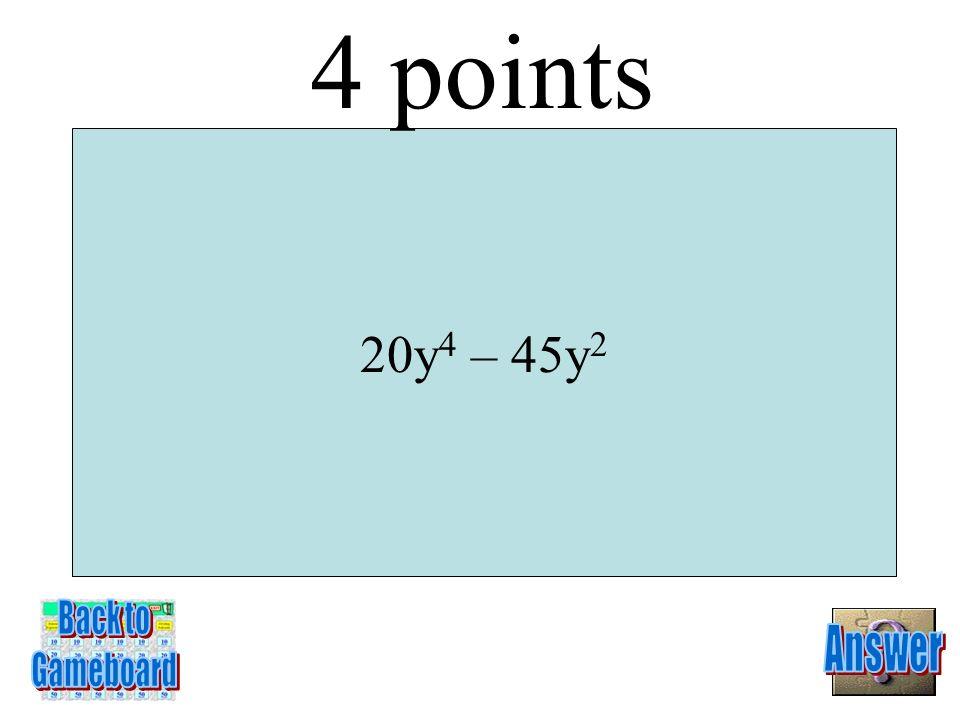3(u – 6)(u – 1) 3 Points 6-3A