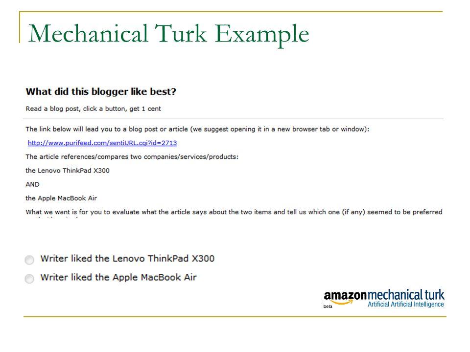 Mechanical Turk Example 38