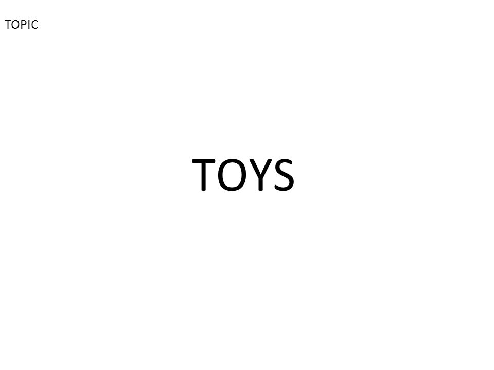 TOYS TOPIC