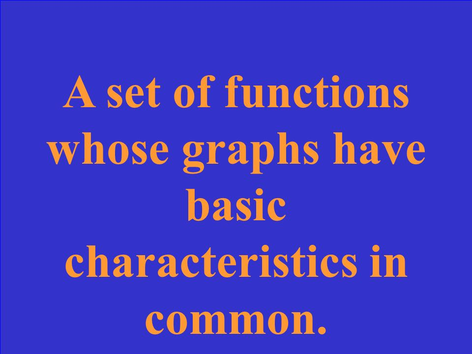 What is a linear function