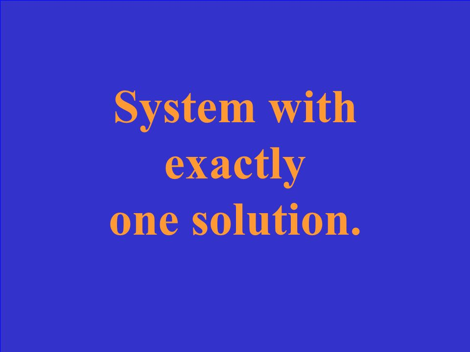 What is a dependent System?