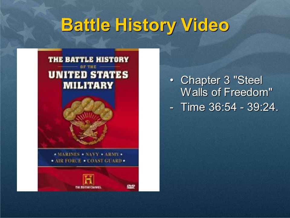 Battle History Video Chapter 3