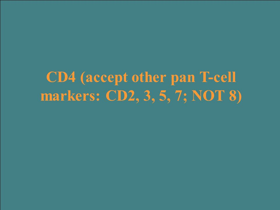 This CD marker is present on the neoplastic cells which give rise to this syndrome.
