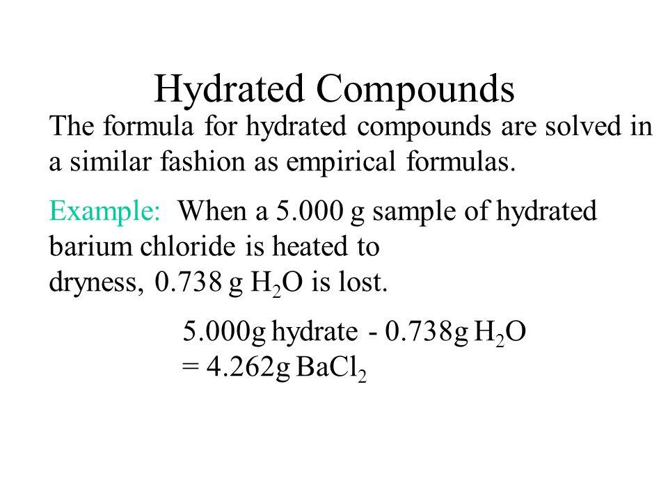 Molecular formula Empirical formulaCH 5 N Empirical formula mass31.06 u Molecular mass62.12 Ratio:62.12 / 31.06= 2 The molecular formula is C 2 H 10 N