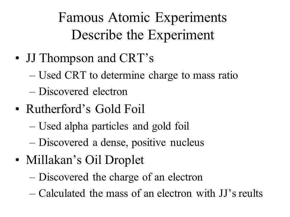 Its the Law Explain the following laws: –Conservation of Mass –Definite proportion –Multiple proportion Name four parts of Daltons Atomic Theory –Atom