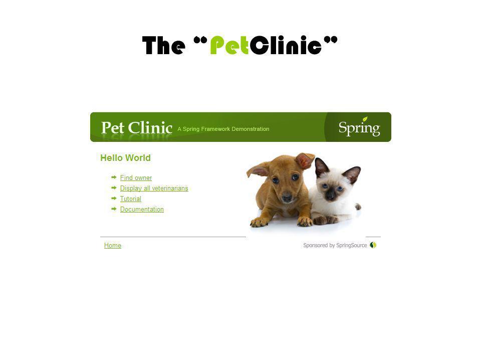 The PetClinic