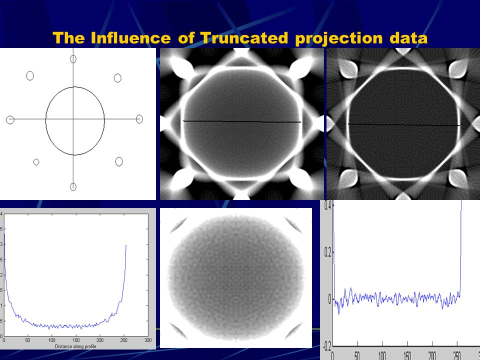 The Influence of Truncated projection data