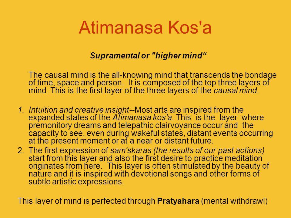 Atimanasa Kos'a Supramental or