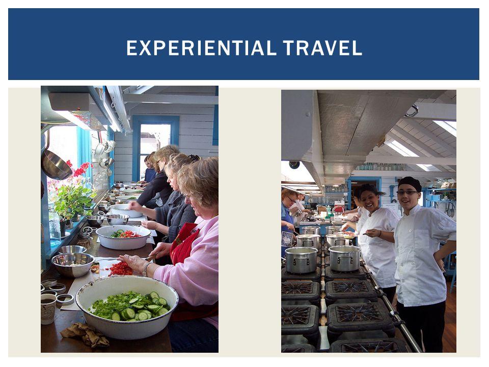 EXPERIENTIAL TRAVEL