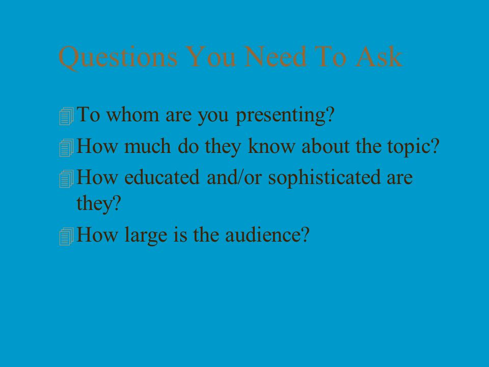2 What This Presentation Is About 4 What makes a good oral presentation 4 Tips on preparing a presentation 4 Delivery of a presentation