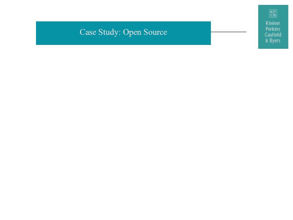 Case Study: Open Source