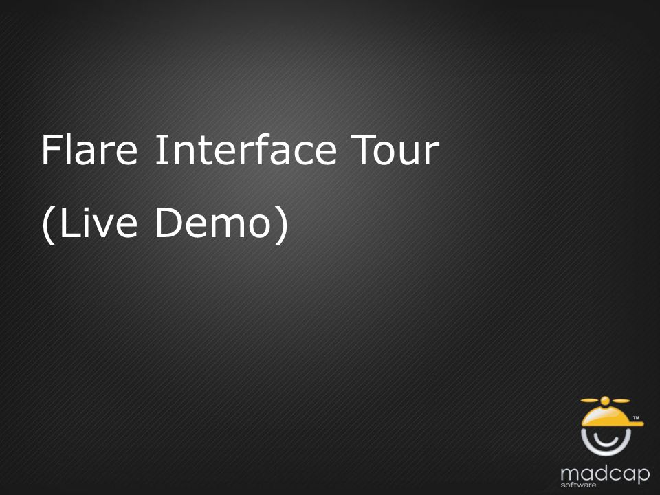 Flare Interface Tour (Live Demo)