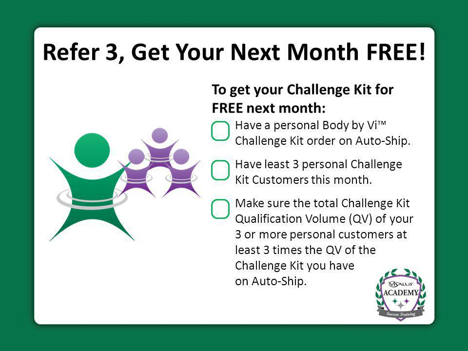 Become a ViSalus Rising Star Achieve the Rank of Director within your first 30 days and earn additional rewards for life.