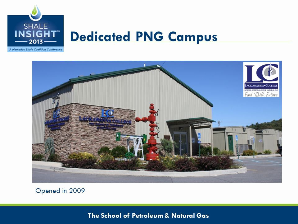 Dedicated PNG Campus The School of Petroleum & Natural Gas Opened in 2009