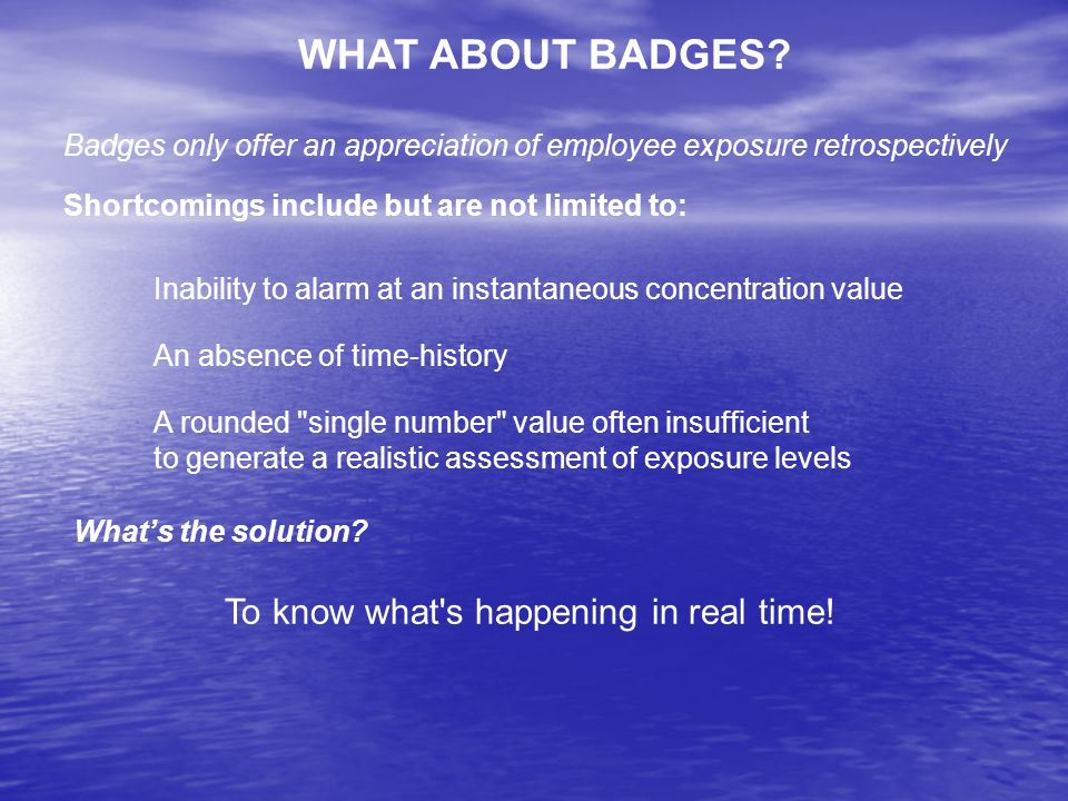 WHAT ABOUT BADGES.